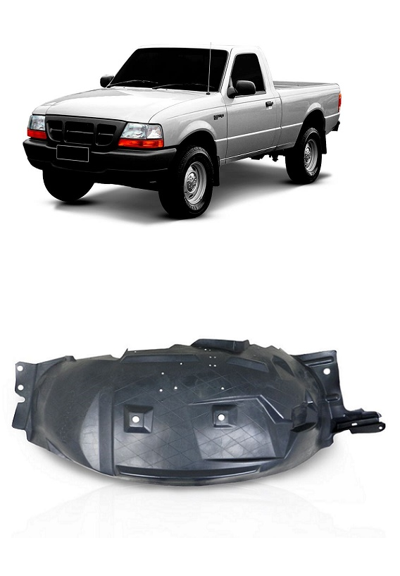 Parabarro Dianteiro Ford Ranger 1998 1999 2000 2001 2002 2003 2004