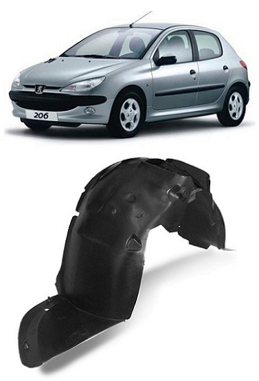 Parabarro Dianteiro Peugeot 206 1999 a 2011