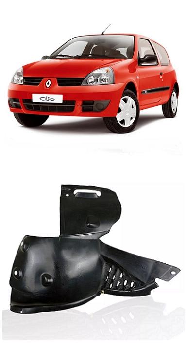 Parabarro Dianteiro Renault Clio 2003 a 2011 Parte Dianteira