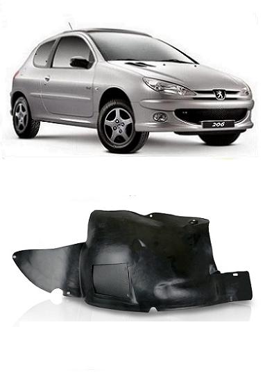 Parabarro Peugeot 206 1999 a 2011 Parte Dianteira