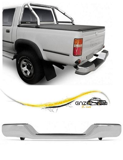 Parachoque Traseiro Hilux Pickup 1992 a 2001 Cromado