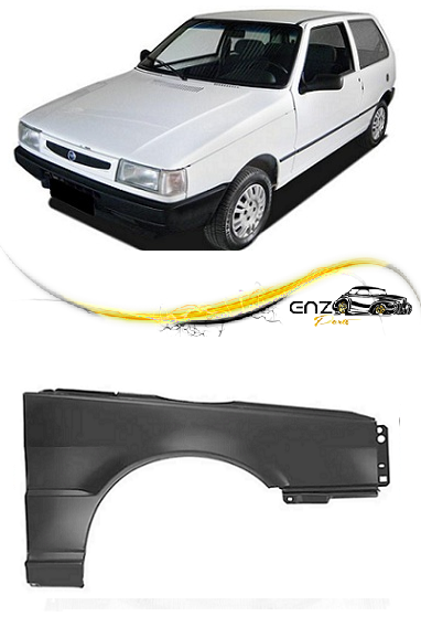 Paralama Fiat Uno Mille Fiorino Premio 1984 a 2003