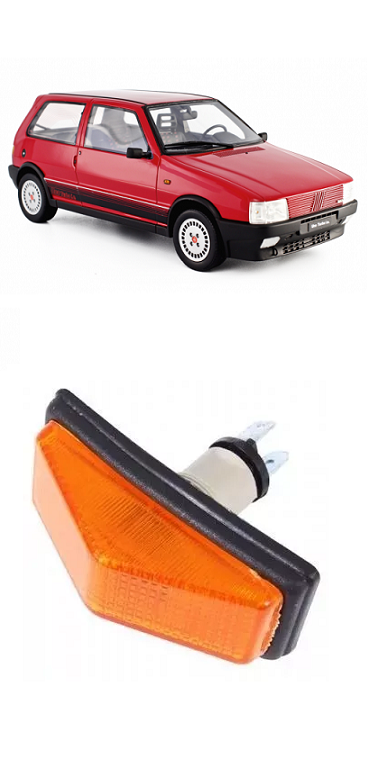 Pisca Lanterna do Paralama Fiat Uno 1984 a 2003 Ambar