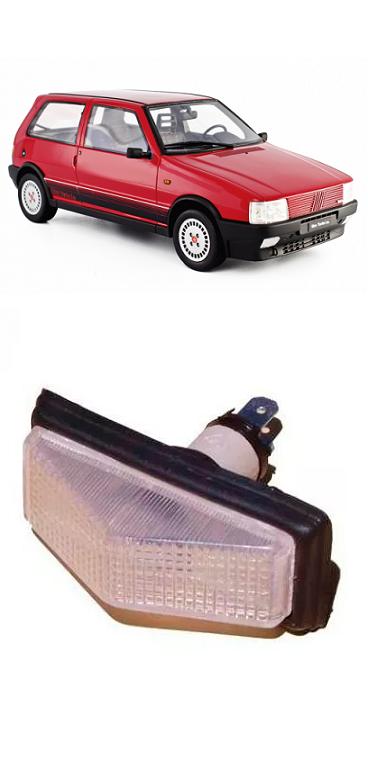 Pisca Lanterna do Paralama Fiat Uno 1984 a 2003 Cristal