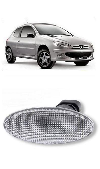 Pisca Lanterna do Paralama Peugeot 206 1999 a 2011