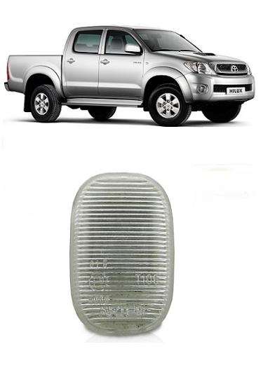 Pisca Lanterna Seta Lateral Paralama Toyota Hilux 2005 a 2011