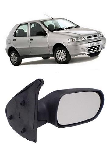 Retrovisor Fiat Palio Fire Siena Weekend 2001 2002 2003 4 Portas Fixo Sem Controle