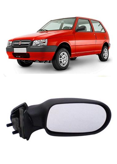 Retrovisor Fiat Uno Fire Flex 2005 a 2010 2 Portas sem Controle