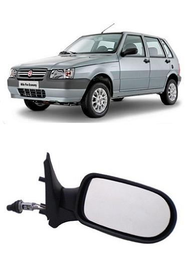 Retrovisor Fiat Uno Fire Flex 2005 a 2010 4 Portas com Controle