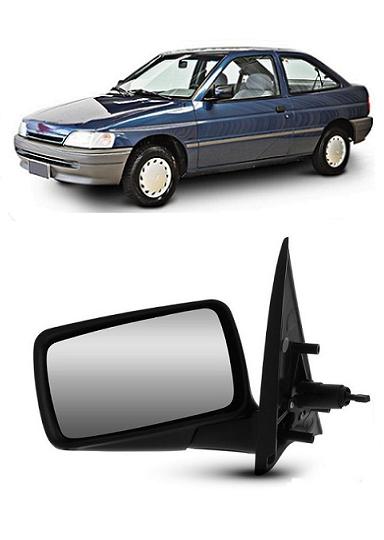 Retrovisor Ford Escort 1993 1994 1995 1996 com Controle