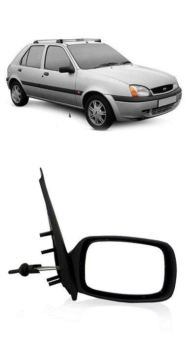 Retrovisor Ford Fiesta 1996 a 2007 Com Controle