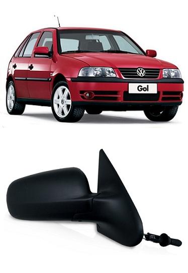 Retrovisor Gol Parati G3 G4 2000 a 2013 2 Portas Com Controle