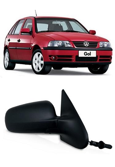 Retrovisor Gol Parati G3 G4 2000 a 2013 4 Portas Com Controle