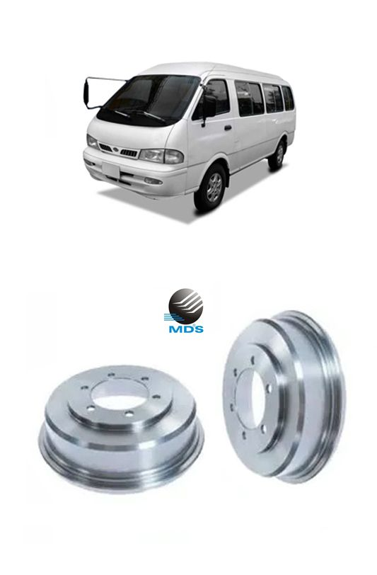 Tambor de freio traseiro s/cubo Kia Besta gs 3.0 mds T251A