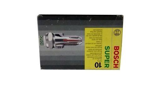 Velas Original Bosch 8v Kit 4 Peças