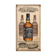 Placa Metálica Decorativa Jack Daniel's Mellowed - Desperate
