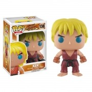 Boneco Pop! Vinil Ken Street Fighter - Funko