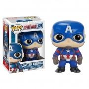 Boneco Pop! Vinil Capitão América (Captain America) Marvel - Funko