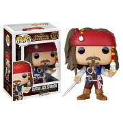 Boneco Pop! Vinil Jack Sparrow Piratas do Caribe - Funko