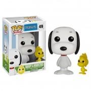 Boneco Pop! Vinil Snoopy & Woodstock - Funko