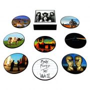 Jogo de porta-copos (bolachas) Pink Floyd