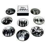 Jogo de porta-copos (bolachas) The Beatles