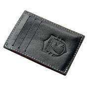 Carteira Compacta (Party Wallet) em Couro Preta - Nordweg