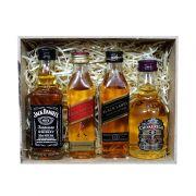 Kit Para Padrinhos Whiskys (miniaturas)