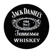Jogo de porta-copos (bolachas) em Borracha Jack Daniel's