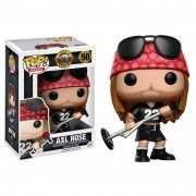 Boneco Pop! Rocks Vinil Axl Rose - Funko