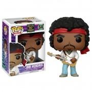 Boneco Pop! Rocks Vinil Jimi Hendrix - Funko