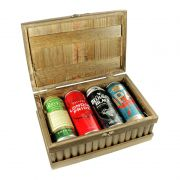 Caixa de Cervejas Premium Lata
