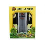 Kit Cervejas Paulaner Weißbier 500ml e Copo Weiss 500ml