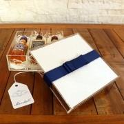 Kit Para Padrinhos Miniaturas de Bebidas Premium (Modelo 5)