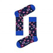 Meia Colorida em Algodão Bang Azul - Happy Socks