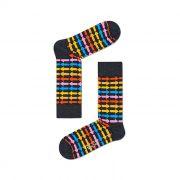 Meia Colorida em Algodão Direction Cinza - Happy Socks