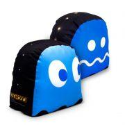 Peso de Porta Fantasma Azul com LED Pac-Man - Kathavento