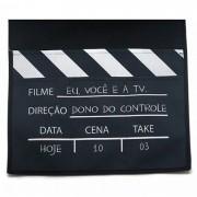 Porta-Controles de Sofá Cinema - Kathavento