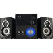Caixa Multimidia 2.1 com Subwoofer 21W RMS SP-232U Preto C3 TECH