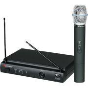 Microfone de Mao sem Fio KRU301 Preto Karsect