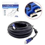 Cabo HDMI 15 Metros 1.4 EXBOM Macho com Filtro e Malha Blindado CBX-H150CM CBX-H150CM EXBOM