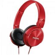 Fone de Ouvido Estilo DJ com Graves Nitidos SHL3060RD/00 Vermelho Philips
