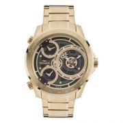 Relógio Technos Masculino  BIG Case Dourado