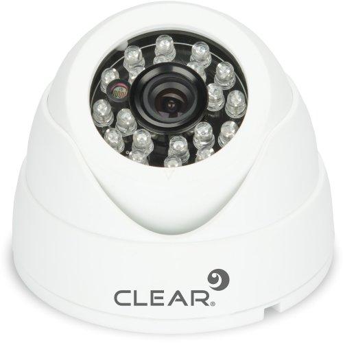 Camera Mini Dome IR 25M 3,6MM 1.0MP AHD-24L Branca Clear  - skalla magazine
