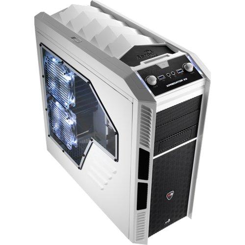Gabinete Gamer Xpredator X3 EN57110 Branco Aerocool  - skalla magazine