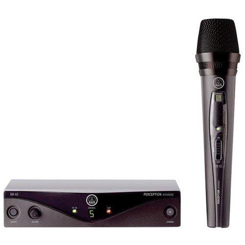 Microfone Wireless PW45 VSET B2 Preto AKG  - skalla magazine