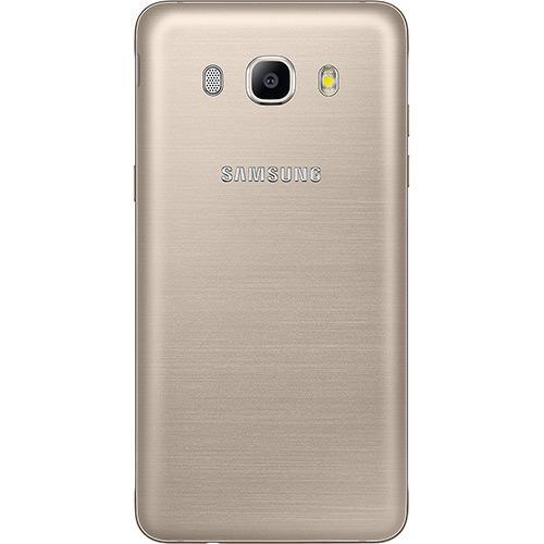 "Smartphone Samsung Galaxy J5 Metal Dual Chip Android 6.0 Tela 5.2"" 16GB 4G Câmera 13MP - Dourado  - skalla magazine"
