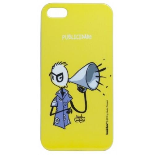 Capa protetora de acrílico  Iphone 5s - Profissão Publicidade  - skalla magazine