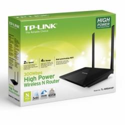 Roteador Wireless N 300mbps De Alta Potencia Tl-wr841hp  - skalla magazine