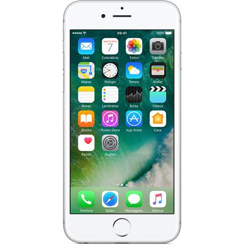 "iPhone 6s 32GB Prata Tela Retina HD 4,7"" 3D Touch Câmera 12MP - Apple  - skalla magazine"